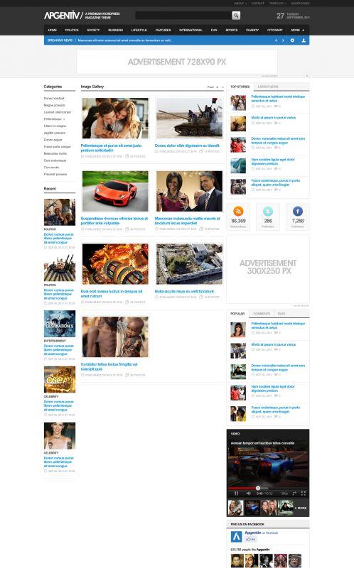 Solid Magazine/News Theme - Apgentiv