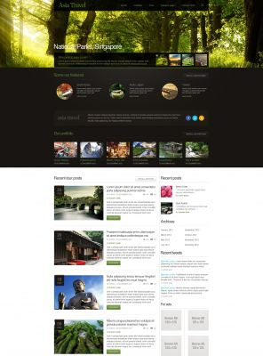 Travel Guide Wordpress Theme - TravelMagazine