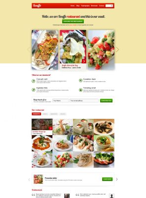 Responsive - Delicious Wordpress Theme - BouffeFood