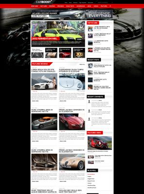 Automobile - Car Wordpress Theme - CarsBoost