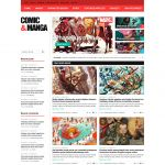 Comic Manga WordPress Theme | ComicMag | WPDance