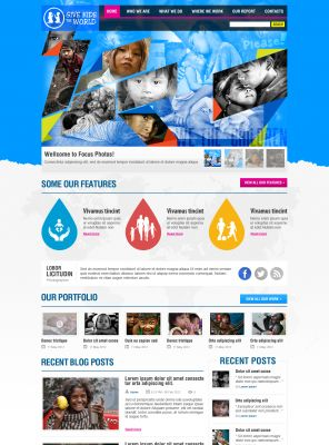 Nonprofit Organization Wordpress Theme - Kidconner