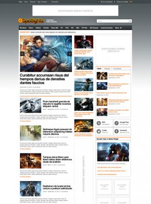 Game Portal Wordpress Theme - Gspot