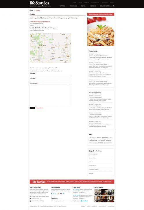 Lifestyle Magazine Wordpress Theme - Lifestyle - Shortcodes