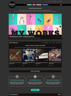 Portfolio Wordpress Theme - Creative