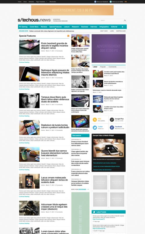 Technology Magazine WordPress Theme - TechMag - Blog