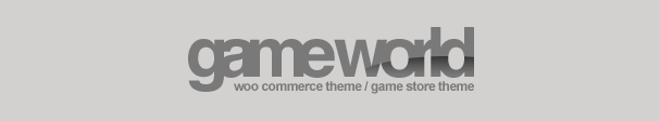 WooCommerce Game Theme
