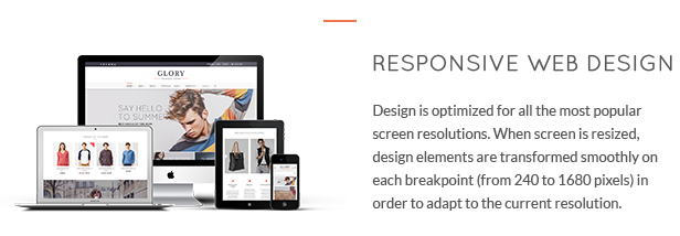 Glory - Multipurpose WooCommerce WordPress Theme