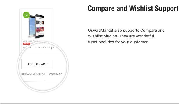 Compare - Wislist