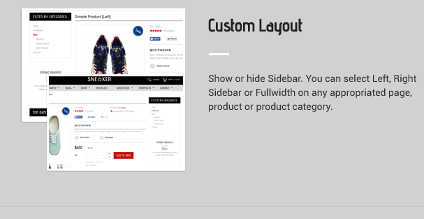 Custom Layout