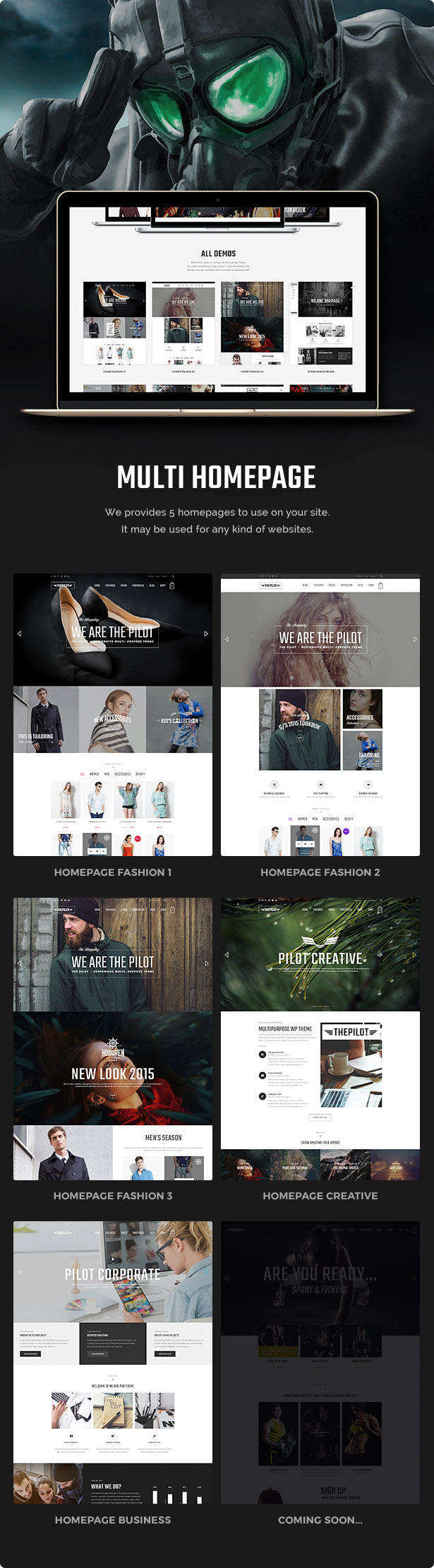 Wordpress Woo General  Download ThePilot | Premium Responsive WooCommerce Theme Best For Fashion Corporate Fitness Blog Magazine nulled feature3