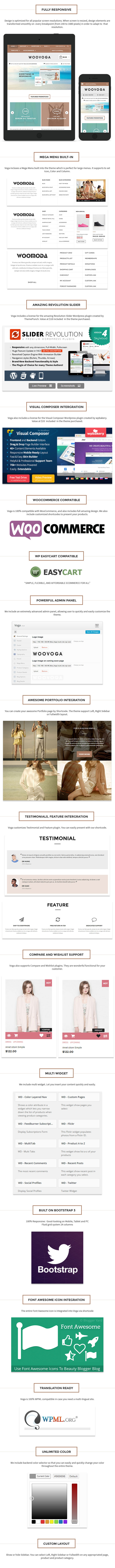 Voga - Multi-Purpose WooCommerce EasyCart WP Theme