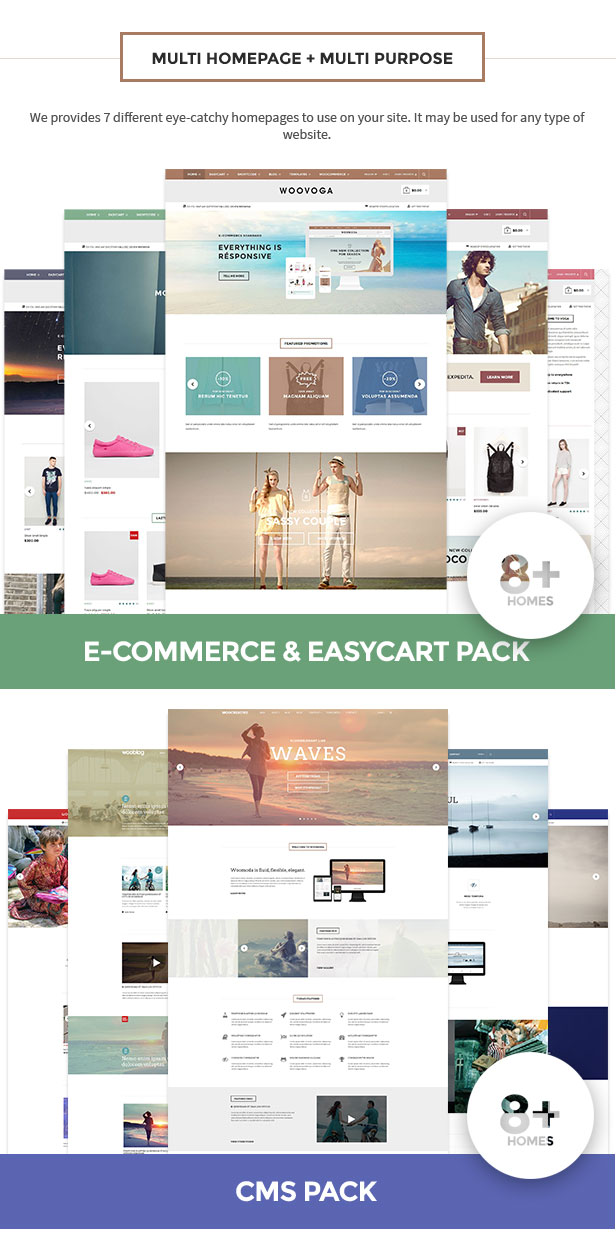 Multi-Purpose WooCommerce